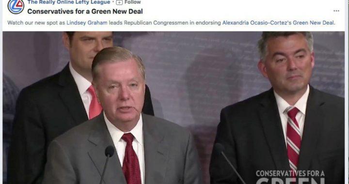Liberal Group Runs Facebook Ad Falsely Claiming Republican Endorses Ocasio-Cortez's Green New Deal